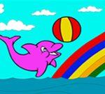Bojenje slatkog delfina