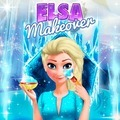 Elsa šminkanje