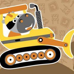 Construction Trucks Hidden
