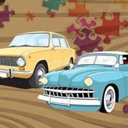 Old Timer Car Jigsaw